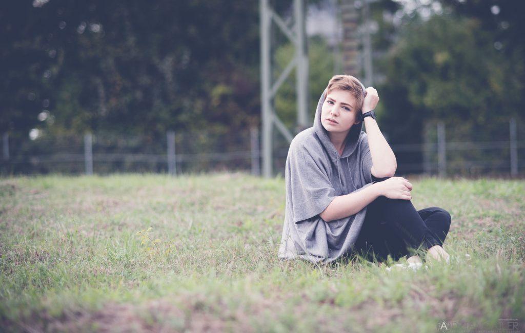 Oktober Outdoor Shooting mit Mira